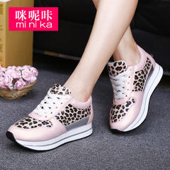 Microphone clicking fall 2015 movement women casual shoes high women's shoe Department in thick-soled platform shoes comfortable shoes