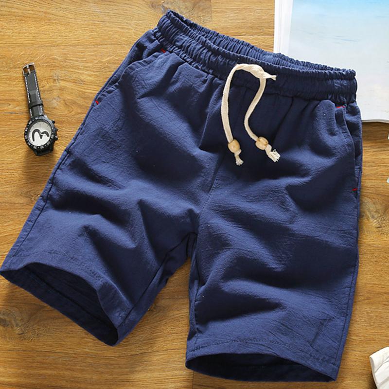 五分裤男夏季新款男士日韩休闲中裤学生短裤小伙纯棉沙滩裤潮