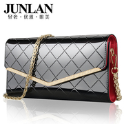 JUNLAN LAN fall 2015, June leather women bag Messenger bag new fashion ladies shoulder bag clutch bag women boomers