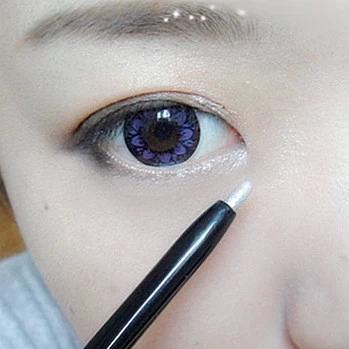 自动旋转眼线笔双头卧蚕笔防水高光眼影棒泪眼装舞台妆韩国珠光白