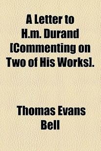 【预售】A Letter to H.M. Durand [Commenting ...
