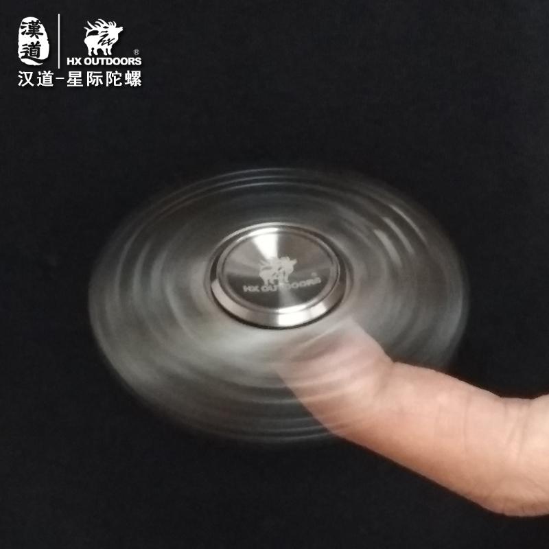 汉道EDC指尖陀螺Hand spinner手拇指间螺旋成人玩具