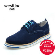 West fall 2015 new shoe trend of the Korean daily casual leather belt round head men's leather shoes