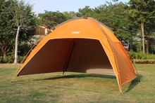 户外天md0帐篷围布cs棚野外多的沙滩防雨篷晒紫外线钓鱼逸途