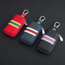 汽车真皮钥匙包 男女款奥迪奔驰宝马现代本田丰田汽车钥匙包套