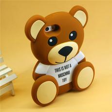 限量版小熊 iphone6 plus手机壳 抱抱熊苹果6S 5S泰迪熊外壳套