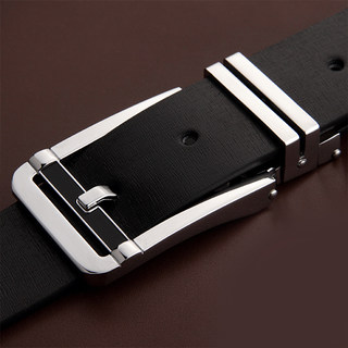LAN man belt leather men's belts, JUNLAN June Korean version of genuine leather men's belts belt boom