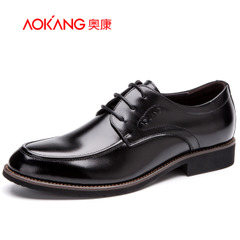 Aokang shoes spring 2016 new men's business suit working round comfortable breathable Derby of England shoes