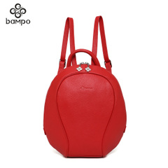 Mountain Leather handbag genuine soft leather backpack trend 2015 counters versatile backpack