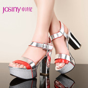 Zhuo Shini summer styles open toe platform high heel casual rough Cingulate cool shoes for 142138120