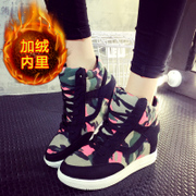 2015 winter season increased in the new shoes sports shoes women's shoes high students shoes and wool and cotton shoes