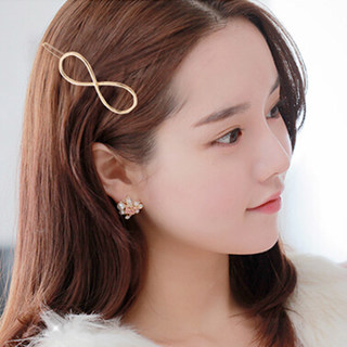 Know Connie hair accessories hairpin clip the side clips of the alloy five-pointed star in Europe and America bangs clip frog clip hairpin jewelry
