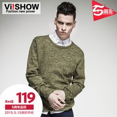 New viishow2015 spring knitted sweater Turtleneck t shirt cotton knit skinny sweaters in winter