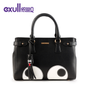 Exull q2015 new autumn cute cartoon eyes colour matching single diagonal shoulder women bag handbag 15330066