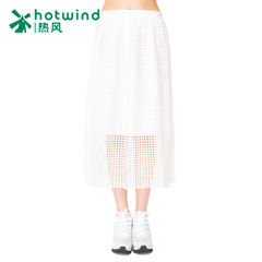 Hot spring and autumn in the long perspective of the art cut Plaid skirt cut dress in a skirt 14H5709