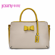 Zhuo Shini 2014 new handbags fashion colour matching Candy-colored bow shoulder hand-held diagonal Kit PO142243