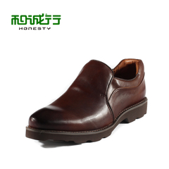 And grey sheep 2015 spring fashion leather business casual leather shoes men's shoes foot pedal 0440066