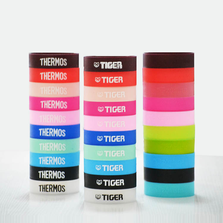 虎牌保温杯杯垫硅胶杯垫带logo防磨防滑6-6.5cm底座保护套保护垫