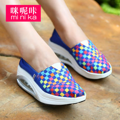 Increased Korean Ka 2015 summer canvas shoes-imidazole shook shoes women air lazy sets foot shoes shoes shoes