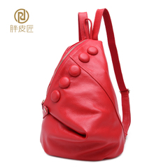 Fat Cobblers 2015 spring/summer new shoulder bags leather handbags leather Lady bag College of Europe and the air bag