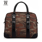 Wanlima/million 2015 fall/winter new style man bag Camo polyester leisure cross square men's handbags