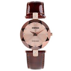 分期女表瑞士表jowissa石英表镶钻手表女士手表潮流时尚时装表女