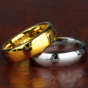 Tungsten Gold Wing King magic ring ring ring ring ring for men and women men couples personalized ring Europe and domineering