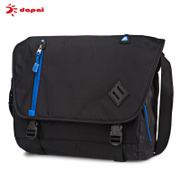 Dapai new sports bag casual shoulder bag man bag Messenger bag women bag balenciaga motorcycle bag outdoor Korean wave