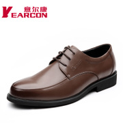 YEARCON/Kang authentic men's shoes in spring and autumn the new leather business dress shoes men's shoes