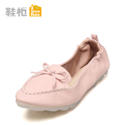 Spring shoe shoebox2016 new shoes with pointed flat-bottom cone set foot low heel 1116101061