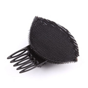 Email Korea fashion fluffy cushion front hair bangs posted increased padded head hair Barrettes Combs