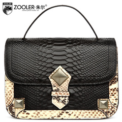 Jules European fashion for ladies bag leather snakeskin shoulder bags Messenger bags handbags for fall/winter new style