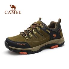 Camel/骆驼男鞋 户外休闲鞋男牛皮运动户外男鞋耐磨防滑户外鞋
