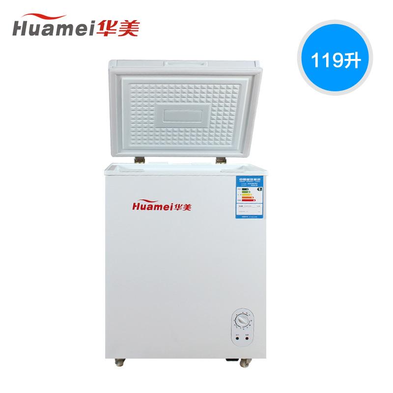 华美 BC/BD-119冷柜冷冻效果好吗,耗电吗?