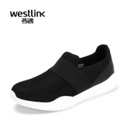 Westlink/West spring 2016 new style sports shoes light breathable lazy network sets foot casual men shoes