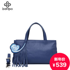 Banpo jewelry flagship store leather women bag new handbag wind clouds, China the first layer of leather shoulder bag