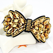 Mu-Mu-jewelry rhinestones exaggerated hair loving Butterfly clip ponytail clip Korea fashion headwear presents
