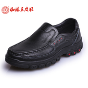Spider Wang Nan England 2015 new style leather men's casual shoes leather shoes leather low bangtao foot trend shoes