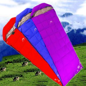 Zhengtu envelope down feather sleeping bag authentic outdoor ultralight portable white duck down 350 grams hotel supplies