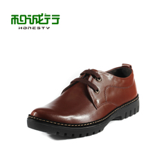 2015 summer styles and grey sheep leather men's shoe Derby of England business shoes men's shoes 0660113