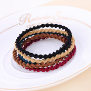 Hot Korea hair accessories Korean bands and durable jewelry rope tie string high thin elastic hair bands