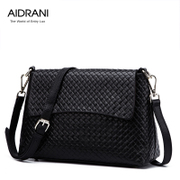Ai Danni 2015 summer new weave pattern handbag fashion shoulder bag lady bag Korean leather handbag