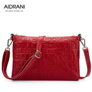 Ai Danni 2015 spring/summer new women bag fashion ladies shoulder bags diagonal package real cow leather letter bag