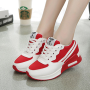 Strange love 2015 fall increased in the new women's shoes flat colour matching canvas sport shoes Korean version