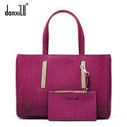 Dan XI road, Mall with new leather women bag fashion ladies bag baodan in Europe and America the shoulder slung bags