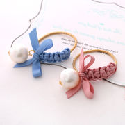 Know Connie hair accessories Korean new twist butterflies first hand-woven string cute Korean elastic hair accessories