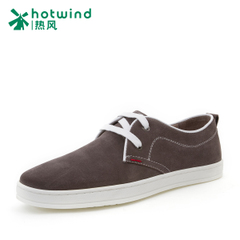 Hot-air simple spring spring new suede leather men's shoes men's laced leather shoes low 71W5105