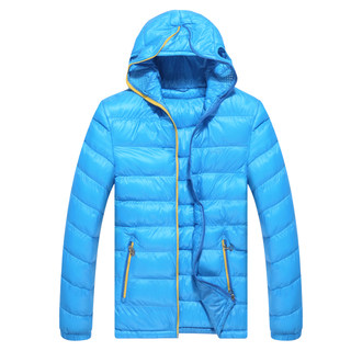 Kang step new short coat men's lightweight warm winter padded jacket sports windproof cotton suits