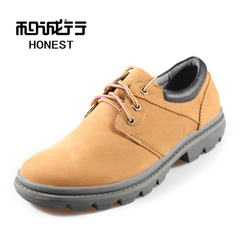 And ash sheep2014 ash sheep winter new Korean leather casual lace men shoes 0550424