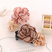 Know Richie jewelry hair accessory Korea hair clip flower hair comb the Korean version of the card-issuing simulation flower head plug plug comb
